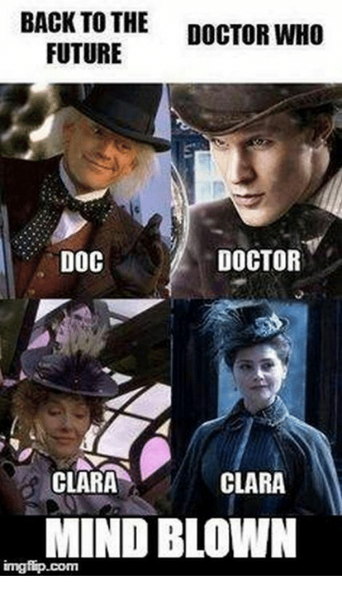 doctor who vs back to the