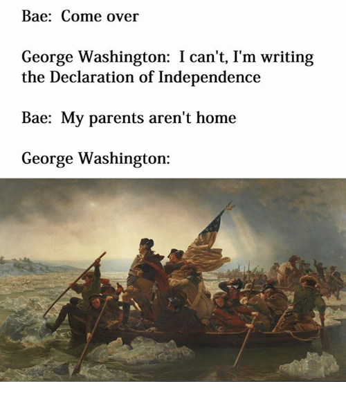 declaration of independence from my parents View my declaration of independence from english 101 at holly springs high school my declaration of independence i hereby declare my independence from my.