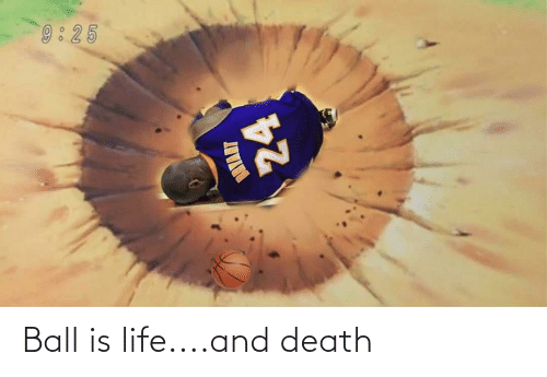 ball is life: Ball is life....and death