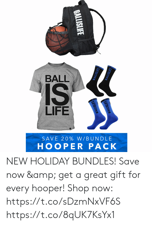 ball is life: BALL  IS  LIFE  SAVE 20% W/BUNDLE  HOOPER PACK  BALLISLIFE  BALLISLIFE  BALLISLIFE  BALLISLIFE  BALLISLIFE NEW HOLIDAY BUNDLES!   Save now & get a great gift for every hooper!  Shop now: https://t.co/sDzmNxVF6S https://t.co/8qUK7KsYx1