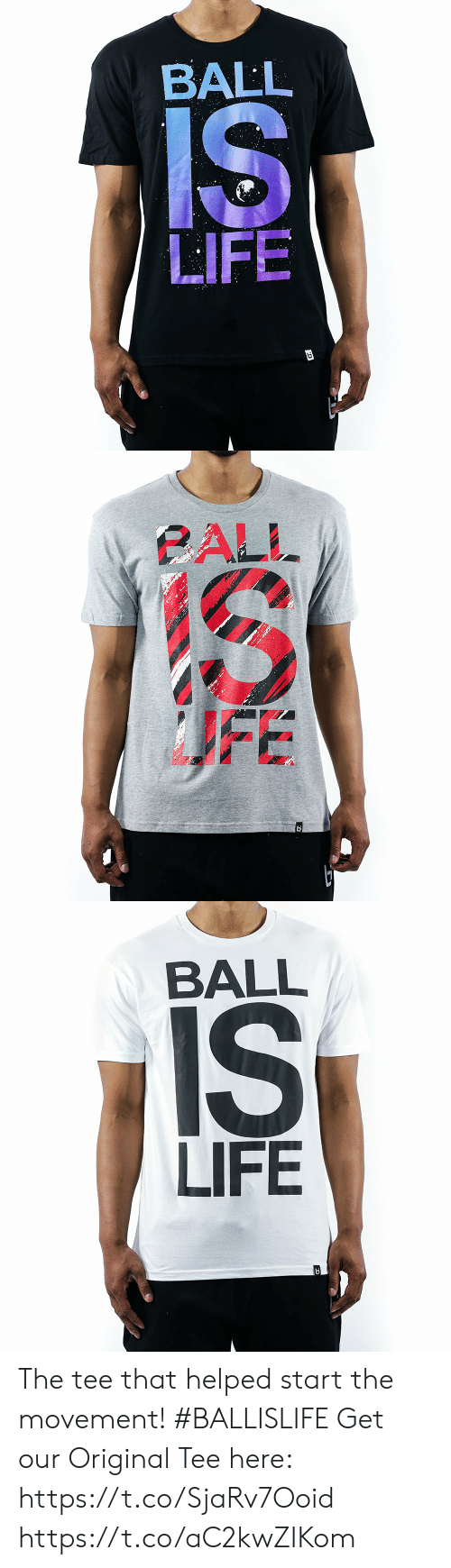 life ball: BALL  LIFE   BALL  IS  LIFE The tee that helped start the movement! #BALLISLIFE  Get our Original Tee here: https://t.co/SjaRv7Ooid https://t.co/aC2kwZIKom