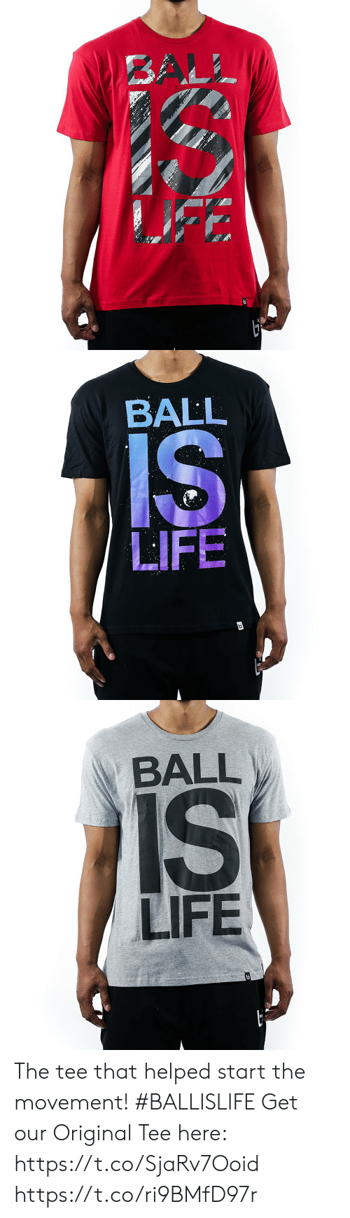 life ball: BALL  LIFE   BALL  LIFE   BALL  LIFE The tee that helped start the movement! #BALLISLIFE  Get our Original Tee here: https://t.co/SjaRv7Ooid https://t.co/ri9BMfD97r