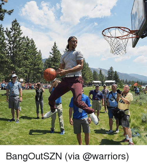 Basketball, Golden State Warriors, and Sports: BangOutSZN (via @warriors)