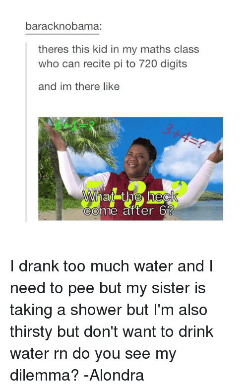 25+ Best Memes About Too Much Water