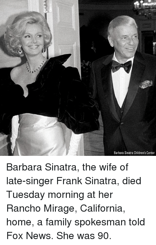 barbara sinatra childrens center barbara sinatra the wife of late singer 26087633 🔥 25 best memes about frank sinatra frank sinatra memes