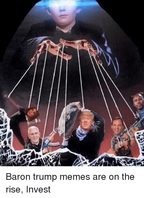 Time Travelling Baron Trump