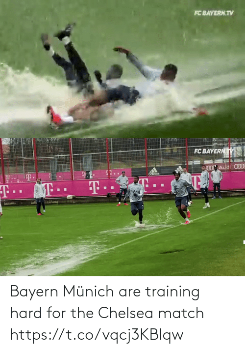 Bayern: Bayern Münich are training hard for the Chelsea match  https://t.co/vqcj3KBIqw