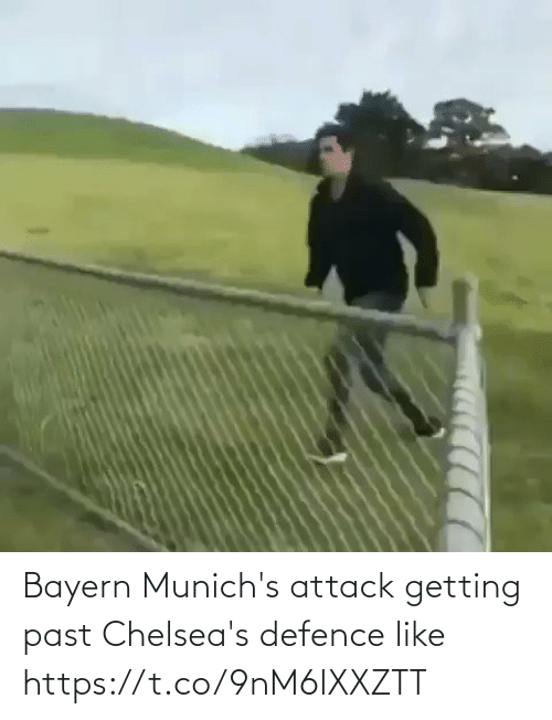 Bayern: Bayern Munich's attack getting past Chelsea's defence like  https://t.co/9nM6lXXZTT