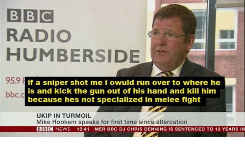 Sniper shot me i owuld run over to where he bbc c is and kick the gun