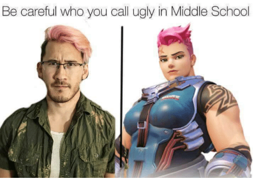 School, Ugly, and Be Careful Who You Call Ugly: Be careful who you call ugly in Middle School