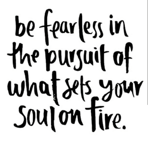 fearless: be fearless in  Soulon Tire.