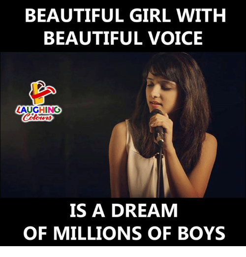 A Dream, Beautiful, and Girl: BEAUTIFUL GIRL WITH  BEAUTIFUL VOICE  LAUGHINO  IS A DREAM  OF MILLIONS OF BOYS