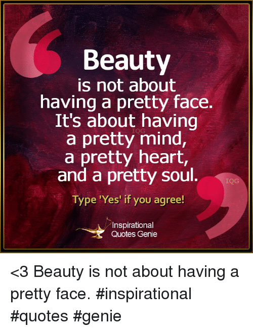 Quotes On Beautiful Face And Heart: 25+ Best Memes About Pretty Heart