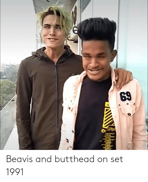 Set, Beavis, and And: Beavis and butthead on set 1991