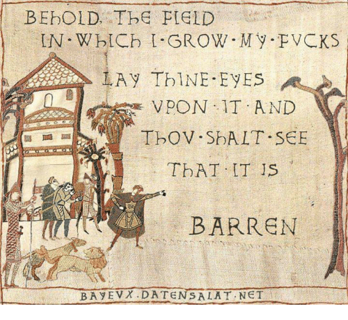 barren: BEbOLD, The PIGID  IN. W blCh BROW My PVCKS  1A y ThINE. EVES  VPON IT AND  TbOV SDA LT SEE  TbAT IT IS  BARREN  BA y EVN DATEN SA LAT NET
