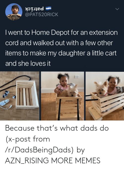 Dank, Memes, and Target: Because that's what dads do (x-post from /r/DadsBeingDads) by AZN_RISING MORE MEMES