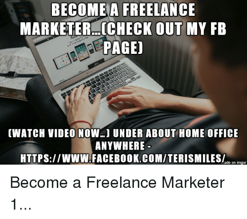 how to become a freelance marketer