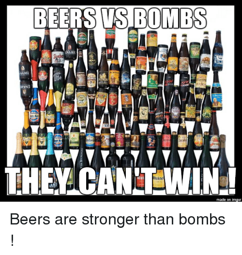 Imgur, Name, and Names: BEERS BOMBS  ENAME  NAME  THEY made on imgur