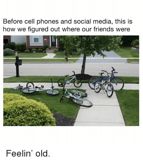 Before Cell Phones: Before cell phones and social media, this is  how we figured out where our friends were Feelin' old.
