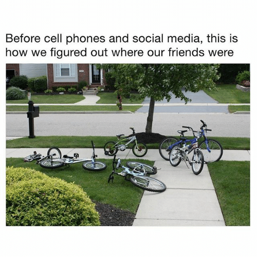 Before Cell Phones: Before cell phones and social media, this is  how we figured out where our friends were  it