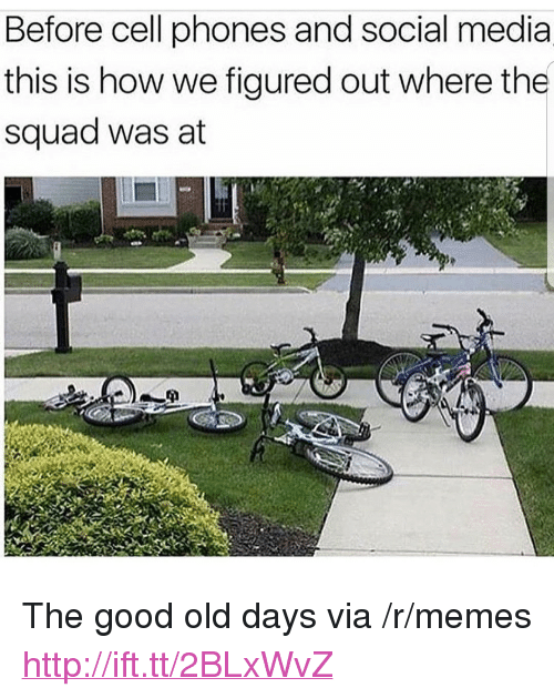 """Before Cell Phones: Before cell phones and social media  this is how we figured out where the  squad was at <p>The good old days via /r/memes <a href=""""http://ift.tt/2BLxWvZ"""">http://ift.tt/2BLxWvZ</a></p>"""