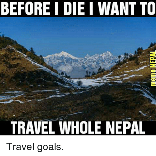 25 best memes about travelling goals travelling goals memes for Where do i want to go on vacation
