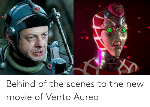 scenes: Behind of the scenes to the new movie of Vento Aureo