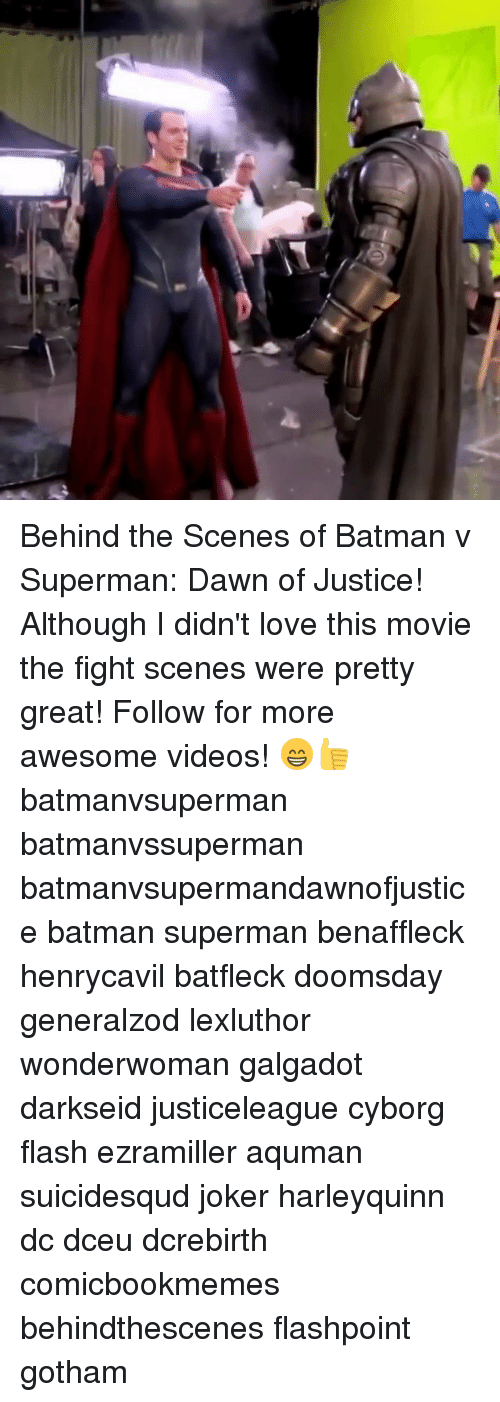 Joker, Memes, and Superman: Behind the Scenes of Batman v Superman: Dawn of Justice! Although I didn't love this movie the fight scenes were pretty great! Follow for more awesome videos! 😁👍 batmanvsuperman batmanvssuperman batmanvsupermandawnofjustice batman superman benaffleck henrycavil batfleck doomsday generalzod lexluthor wonderwoman galgadot darkseid justiceleague cyborg flash ezramiller aquman suicidesqud joker harleyquinn dc dceu dcrebirth comicbookmemes behindthescenes flashpoint gotham