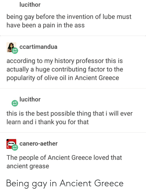 ancient greece: Being gay in Ancient Greece