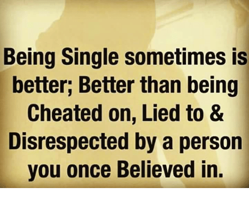 Why being single is better than being in a relationship