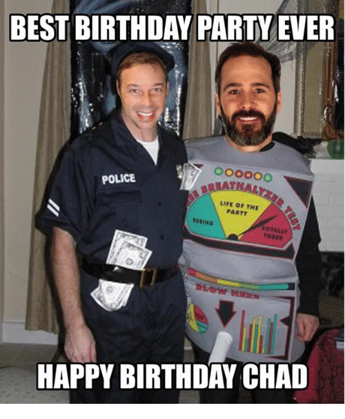 25+ Best Memes About Happy Birthday Chad