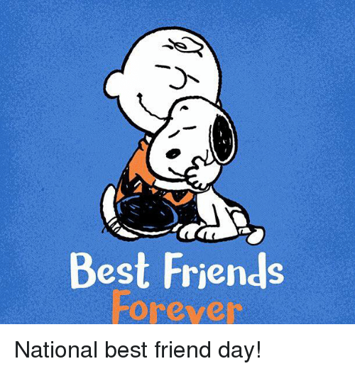 Best Friend, Friends, and Memes: Best Friends  Forever National best friend day!