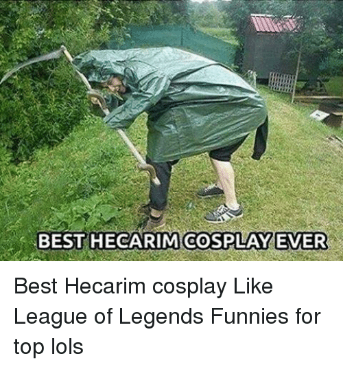 Rims: BEST HECA RIM COSPLAY EVER Best Hecarim cosplay Like League of Legends Funnies for top lols