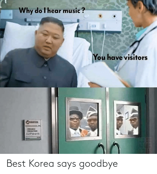 korea: Best Korea says goodbye