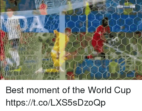 World Cup, Best, and World: Best moment of the World Cup https://t.co/LXS5sDzoQp
