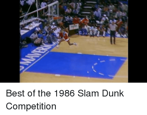Memes, 🤖, and Slam Dunk: Best of the 1986 Slam Dunk Competition