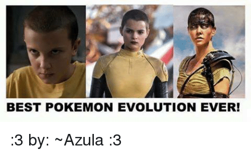 Pokemon, Evolution, and Espanol: BEST POKEMON EVOLUTION EVER! :3 by: ~Azula :3