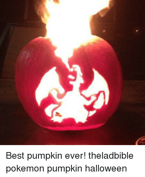 Best Pumpkin Ever Theladbible Pokemon Pumpkin Halloween