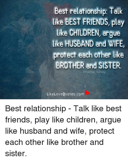 best relationship fight like brother and sister