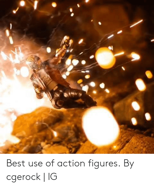 figures: Best use of action figures.  By cgerock | IG