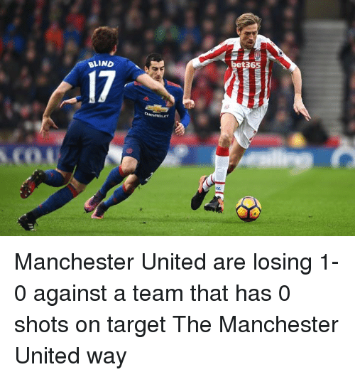 Memes, Target, and Manchester United: bet365  BLIND  17  oeMOLET  wit-insula Manchester United are losing 1-0 against a team that has 0 shots on target  The Manchester United way