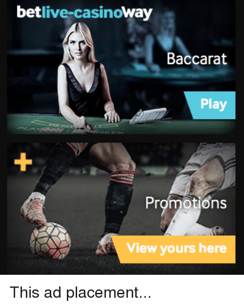 Betlive-Casinoway Baccarat Play Promotions View Yours Here