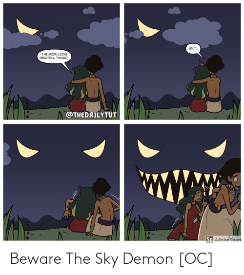 demon: Beware The Sky Demon [OC]