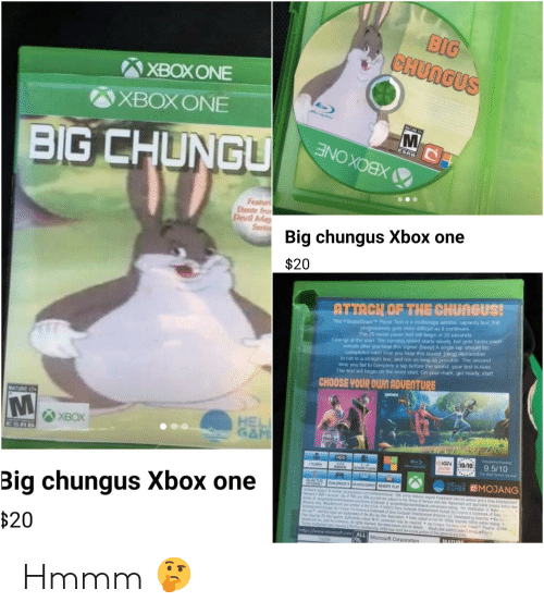 fitnessgram-pacer-test: BIG  CHUNGUS  ХВОXONE  XBOX ONE  MATURE 17  BIG CHUNGU  ESRB  XBOXONE  Featur  Dente fro  Devil May  Serie  Big chungus Xbox one  $20  Mi  ATTACK OF THE CHUNGUS!  The FitnessGram Pacer Test s a multistage aerobic capacity test that  progressively gets more difficult as it continues  The 20 meter pacer test will begin in 30 seconds  Line up at the start The running speed starts slowly but gets faster each  minute affer you hear this signal [beep] A single lap should be  completed each bme you hear this sound (ding) Remember  to run in a straight line, and run as long as possible The second  me you fail to complete a lap before the sOund, your test is over  The test will begin on the word start On your mark, get ready, start  CHOOSE YOUR OWN ADVENTURE  MATURE 17  HEL  GAM  ХВОX  ESRB  IGN 10/10  10/10  HDD  9.5/10  The WaS J  SPLAYER  HELLO  ME MANG  DUAL SHOCKOVCEOP  MOTE PLAY  OPENAL  Big chungus Xbox one  PN rs r nd ne vice and a Sony Entertsient  soct to the Te of Service and Uer Agrmntand appl Y i  e&yea .com For datibution N  C2413 Cop Entaiment E a rad Sy  of Sony Computer Entertuent AcaC b B  sc Asoaton V n Fl1 r 100  ton may  See www.  pSCEA ay e thenintn f ths meaty  nbst WF  red OuTe  detal  Physics C19  YOutube.com/user/Unique  Pha  $20  http://www.microsoft.com ALL  1000  Microsoft Corporation  MATURE Hmmm 🤔