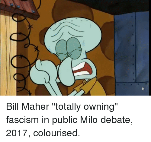 Bill Maher, Fascism, and Anarchy
