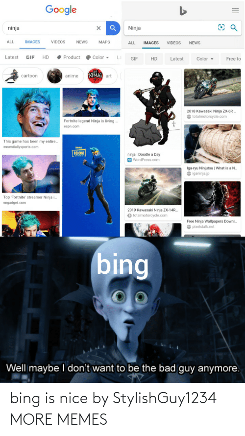 Is Nice: bing is nice by StylishGuy1234 MORE MEMES