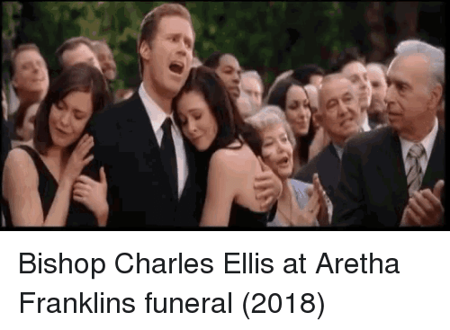 Aretha Franklin: Bishop Charles Ellis at Aretha Franklins funeral (2018)