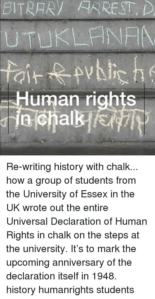 critique of the universal declaration of human rights essay An inspiring history of how the drafting of the universal declaration of human rights review essays search foreign eleanor roosevelt and the universal.