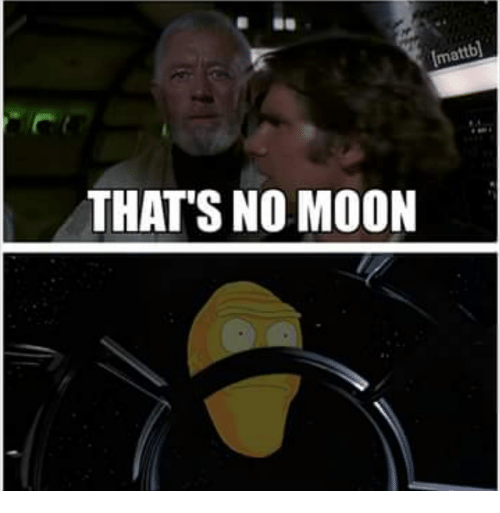 Thats No Moon: bl  ma  THAT'S NO MOON