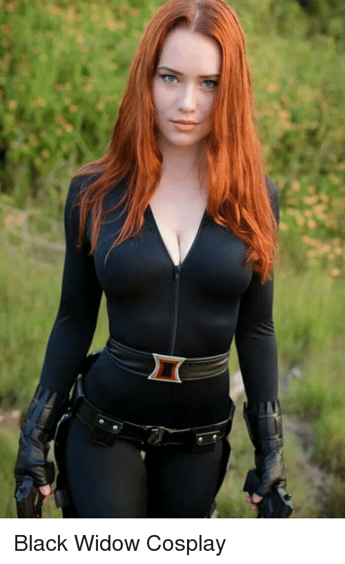 Black Widow: Black Widow Cosplay